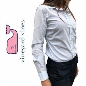 Vineyard Vines- Long Sleeve, Button Up Blouse